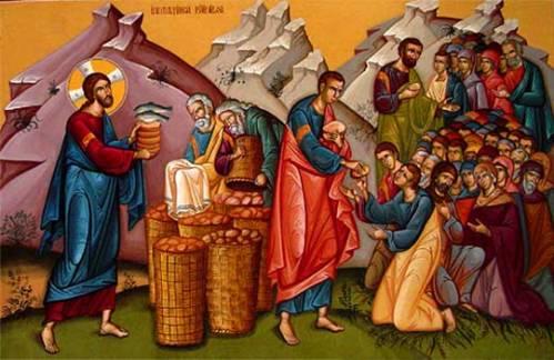 Неделя 8-я по Пятидесятнице. Чудесное насыщение