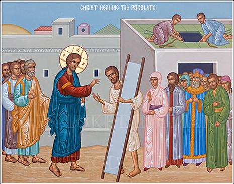 Неделя 6-я по Пятидесятнице (об исцелении расслабленного)