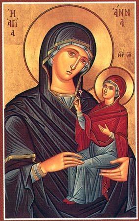 Успение праведной Анны,матери Пресвятой Богородицы