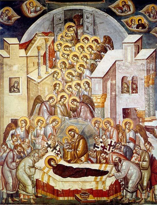 Отдание праздника Успения Пресвятой Богородицы