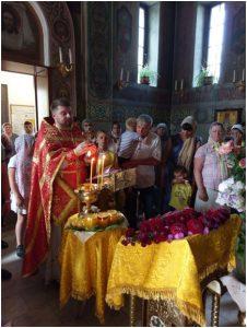 Литургия в Храме 14.08.19