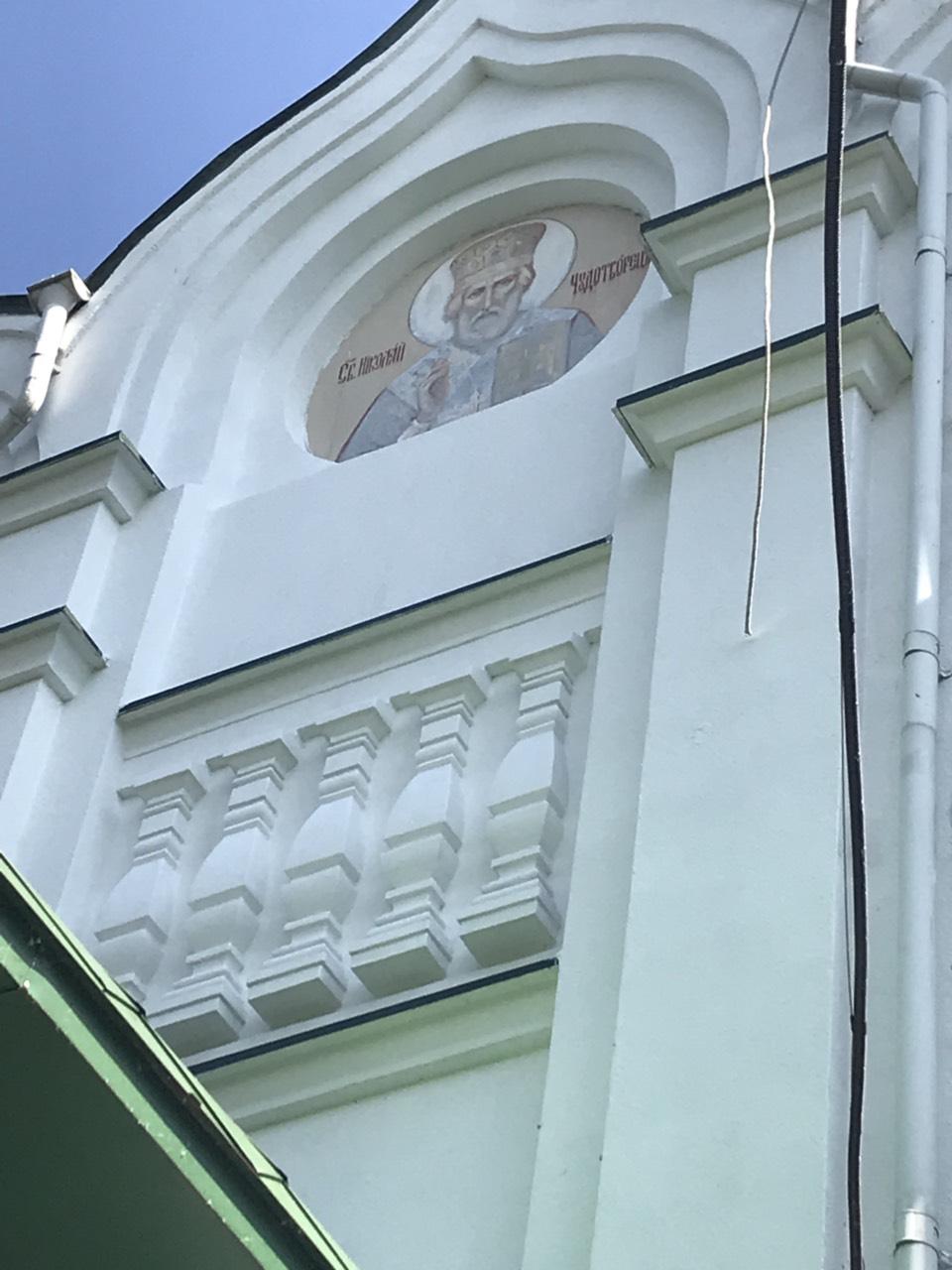 Реставрация храма